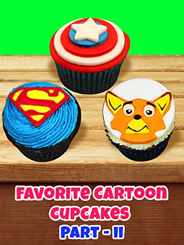 Your favorite cartoon cupcakes - Part 2