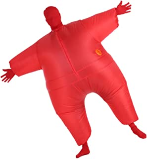 Decdeal Funny Adult Size Inflatable Full Body Costume Suit