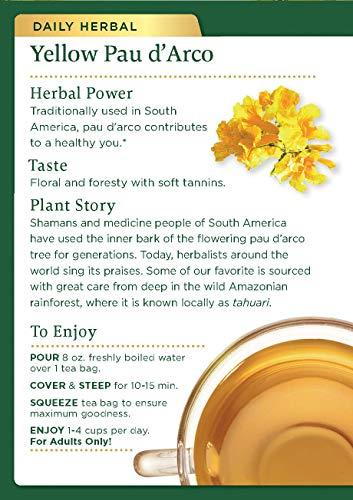 Traditional Medicinals Traditional Tea Blend Pau D'Arco 16 tea bags (a) - 2pc