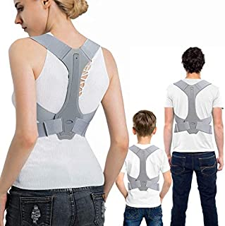 JJSFJH Back Posture Corrector Therapy Corset Spine Support Belt Lumbar Back Posture Correction Bandage For Men Women Kid (...