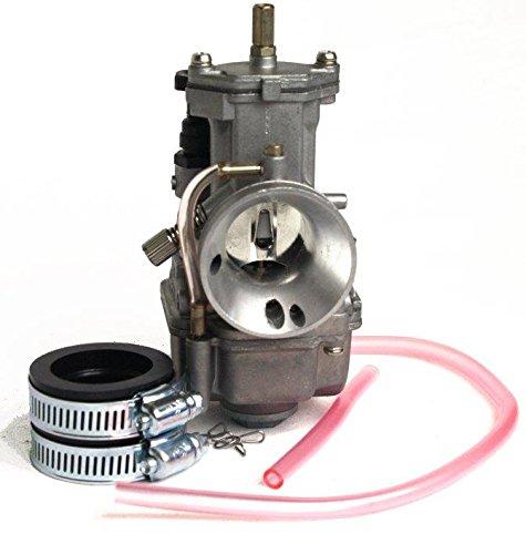 Vergaser Flachschieber Citomerx Racing 21 mm, Baugleich mit OKO, PWK, Stage6, Luftfilter 49mm, Ansaugstutzen 35mm, Tuning Vergaser für 70ccm Racing Zylinder