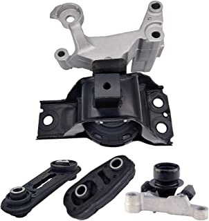 Engine Motor Mount Set -Compatible with Fits For 2007-2012 Nissan Sentra 2.0L w/AUTO CVT,A4348 A4345 A4318 A4346