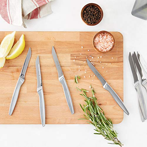 J.A. Henckels International Stainless Steel 8-Piece Steak Knife Set