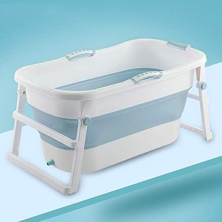 Portable Baignoire Pliable Gratuit Support Permanent Baignoire Gratuite Gonflable Ronde Barrel /Épais De M/énage en Plastique Tremper Bath Barrel Isolation