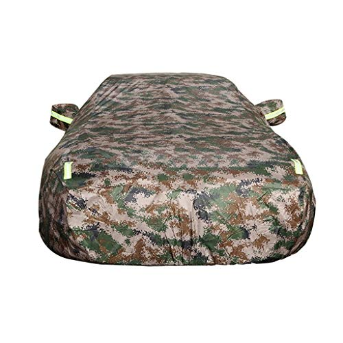 Autoabdeckung Kompatibel mit Chevrolet Bel Air Wagon Autoschutzautoabdeckung vier Jahreszeiten Universal-Verdickung plus Samt wasserdichte Anti-Schnee Flammschutzmittel Winter Vereisung anti-UV-Exposi