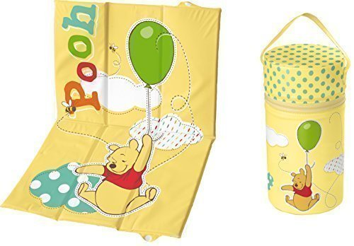 Set 2 Viaggio - Fasciatoio + Warmhaltebox XXL Winnie Pooh Giallo