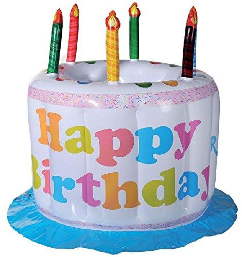Aufblasbarer Getränkekühler Happy Birthday,Geburtstag,Geburtstagstorte