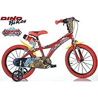 Bicicleta Dino Bikes Bici niño Medida 16 GORMITI Art. 616-GR Made in Italy