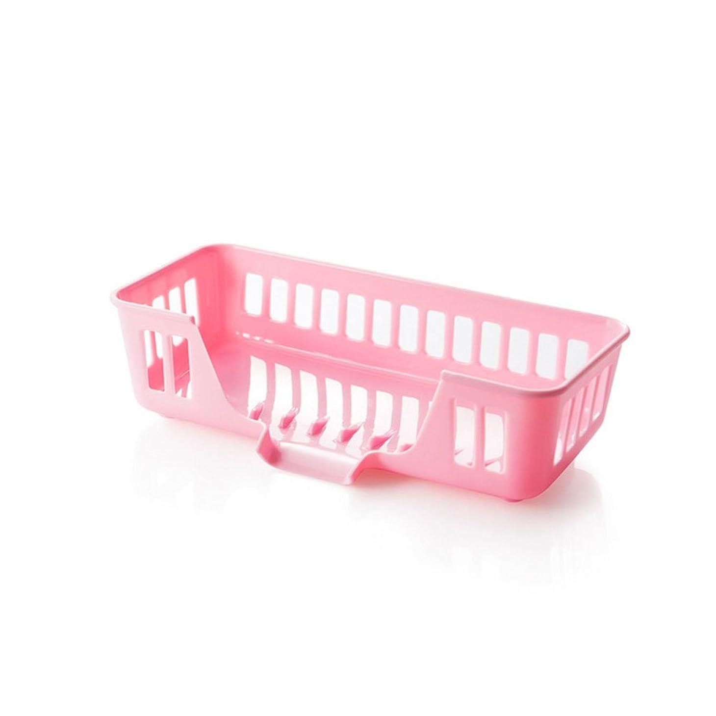 国歌失香港Asentech 多機能用 小物置き スポンジ 食器 小物 石鹸入れ 水切り たわし入れ (ピンク)