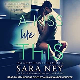 A Kiss like This audiobook cover art