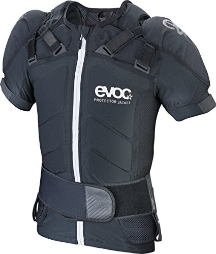 EVOC 301501100 Unisex Protektor Jacke, Schwarz (Black), XL