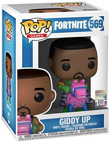 Funko- Pop Games: Fortnite-Giddy Up Collectible Figure, Multicolor (44732) 3