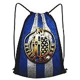 Get-Afe C-F Printed Sports Bag Gym Bag Travel Bag Shoe Bag Backpack Shopping Bag Drawstring