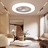 Sunifier Bladeless Ceiling Fan with Light, Remote Control Low Profile...