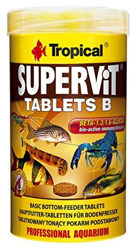 Tropical Supervit Tablets B Hauptfutter Bodentabletten, 1er Pack (1 x 250 ml)