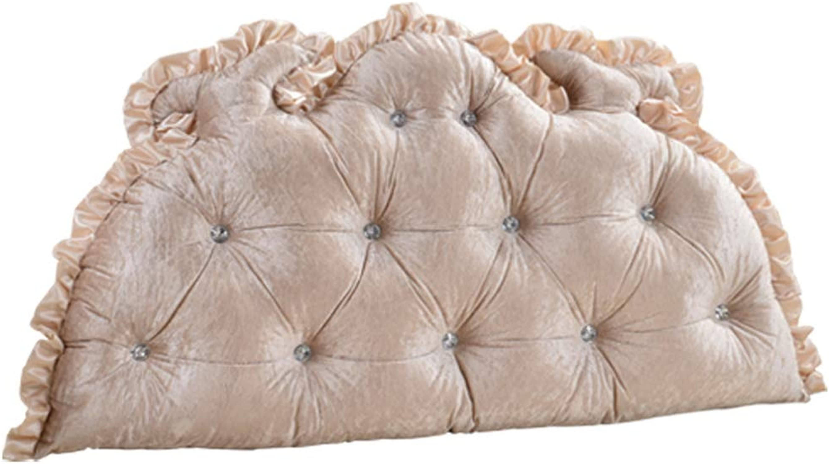 MGMDIAN Triangle coussin lit double soft sac lit grand oreiller lit dossier amovible Dossier en trois diPour des hommesions (Taille   200  75cm)