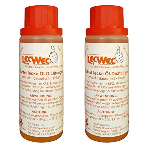 LecWec 200ml - Additiv gegen Ölverlust für alle Ölsorten