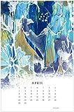 Legacy Publishing Group 2018 - Calendario con portapapapeles (12 meses), diseño de lunares