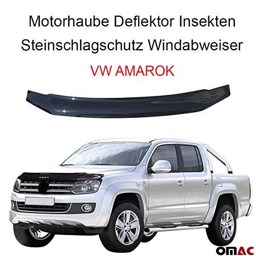 Motorhaube Deflektor Insekten und Steinschlagschutz Windabweiser für Amarok 2010-2020
