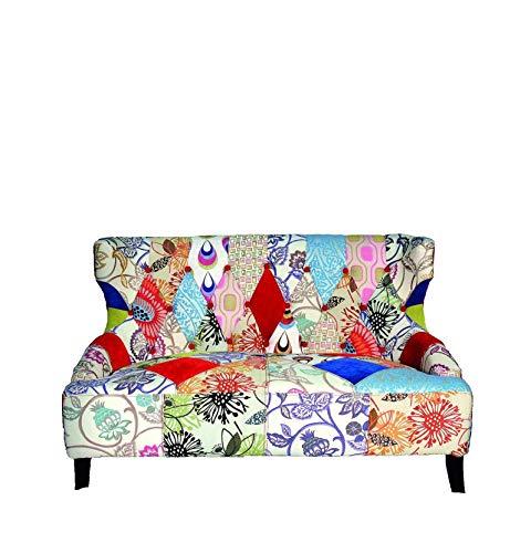 Fashion Commerce FC779 A Due posti, Legno, Multicolore, 127x75x85 cm