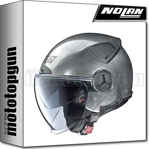 NOLAN MOTORRAD JETHELM N33 EVO CLASSIC SCRATCHED CHROME 006 SZ. M