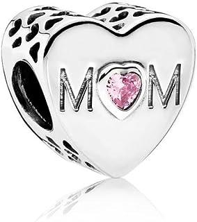 Pandora Women's Mother Heart Charm - 791881PCZ