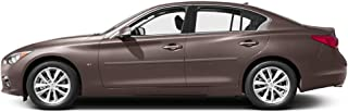 Dawn Enterprises FE-Q50 Finished End Body Side Molding Compatible with Infiniti Q50 - Chestnut Bronze (CAN)