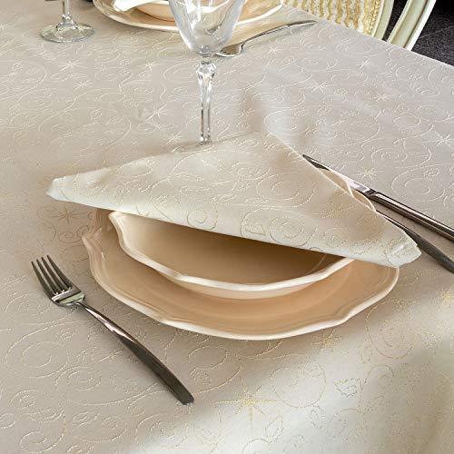 BGEUROPE Mantel servilletas diseño Estrellas