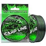 Angel-Berger Magic Baits Carp Line Dark Green Mainline Angelschnur Monofile Schnur (300m, 0,30mm)