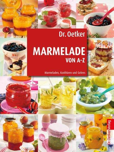 Dr. Oetker: Marmelade von A-Z