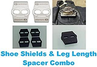 Good Vibration Leg Length Spacer Shim for Crank Brothers EGGBEATER Pedal + Shoe Shield + Wedge