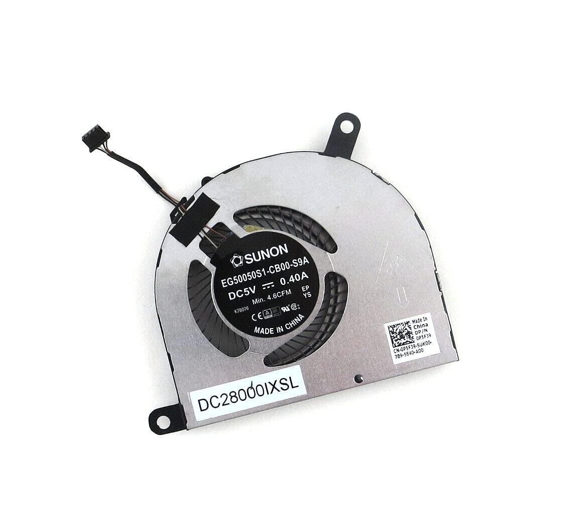 Superlatite CPU Cooling Fan High order for Dell Latitude 5480 0P5F39 E5480 5490 P5F39