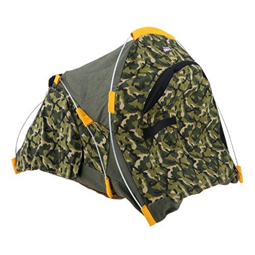 P Prettyia Puppenzubehör Miniatur Outdoor Camping Wandern Zelt Für 12 ''Action Figure Spielzeug