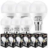 REPSN® Bombilla LED E14 de rosca Edison pequeña para...