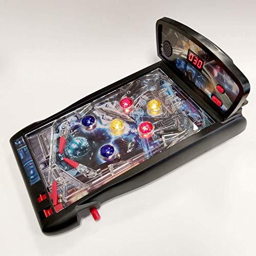 Dr. Troll Galaxy Retro Pinball. Juego clásico del Pinball ambientado en el Espacio y de sobremesa. Juguete para niños a Partir de 3 años y Adultos Aficionados a los Juegos Retro.