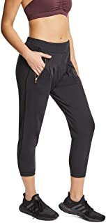 Rockwear Activewear Women's 3/4 Smart Casual Pant Black 14