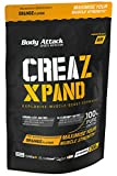 Body Attack Creatine-Booster 100% Pure Creatine Pre Workout Booster mit Kreatin - L-Citrullin 300g