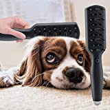 Multifunctional Handheld Pet Massage Comb Rechargeable Portable Ozone Disinfection Dog Brush Dog Grooming