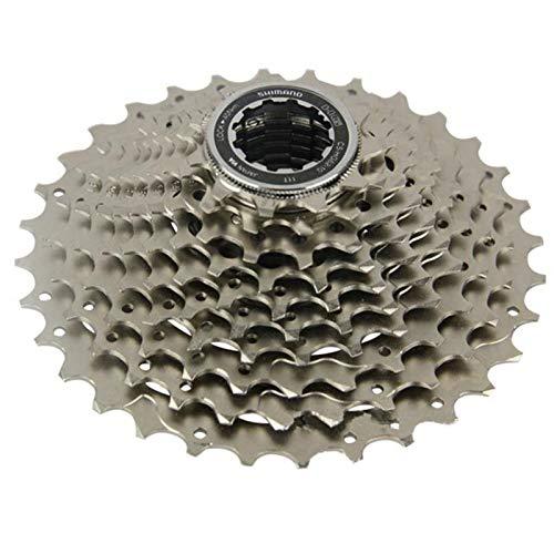 AJO CS-HG500-10 Index 11-34/36T Bike Freewheel Block Screw On Cassette Cog, 10 Speed MTB Bicycle Refit Part Freewheel Sprocket (Size : 11-36T)