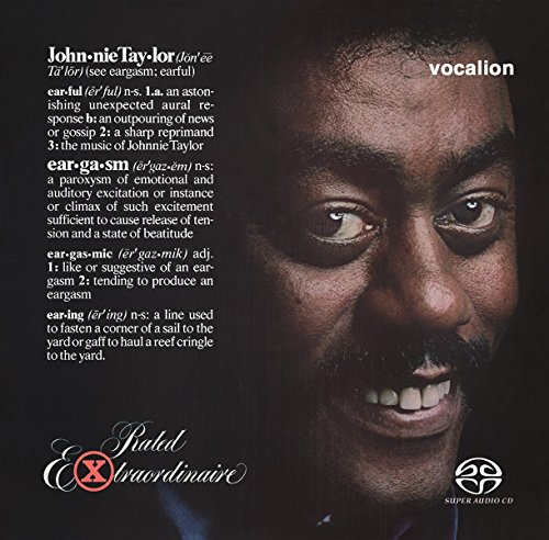Taylor,Johnnie: Eargasm/Rated Extraordinaire (Audio CD)