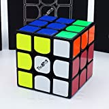 *THE VALK 3* - QiYi 3X3 Professionnel & Compétition Cube de Vitesse Speed Cube Magic Cube Puzzle 3D - Noir / BLACK