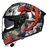 Casco Moto Fibra O Policarbonato