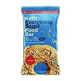 H.V.M.N. Keto Food Bar - Everything Bagel Keto Bars | Gluten Free, 13g Protein, Low Carb, No Added Sugar, Certified Organic Keto Snack (12 Pack)…