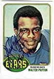 1976 Topps #148 WALTER PAYTON Rookie Card Chicago Bears Facsimile Autograph Auto REPRINT - Football Card. rookie card picture