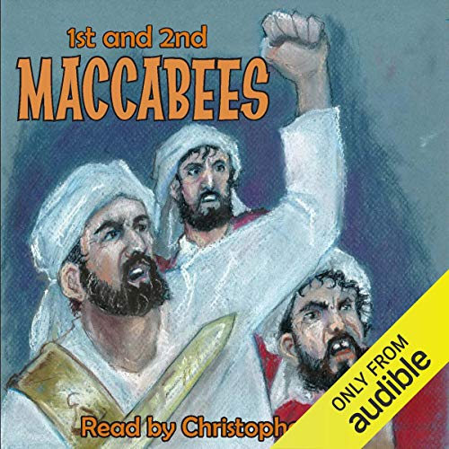 1st and 2nd Book of Maccabees audiobook cover art