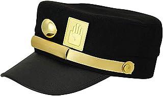 Moniku JoJo's Bizarre Adventure Jotaro Kujo Cosplay Visored Baseball Cap Hat Props