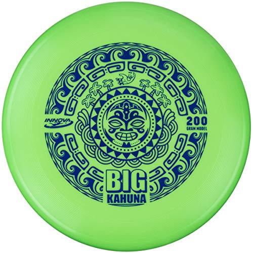 Innova Big Kahuna 200g Ultimate Catch Disc - Tiki - Green,Stamp Color May Vary