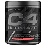 C4 Ultimate Pre Workout Powder Cherry Limeade | Sugar Free Preworkout Energy Supplement for Men &...