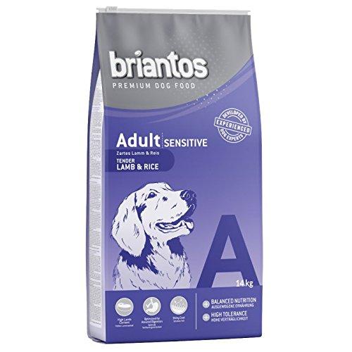 Briantos Adulte Sensitive Agneau et riz. A Heathly équilibré Nourriture pour votre chien