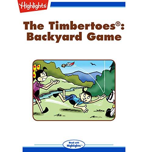 The Timbertoes: Backyard Game copertina
